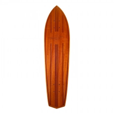 FREEDOM RIDERS Diamond Tail Sapele Deck Only